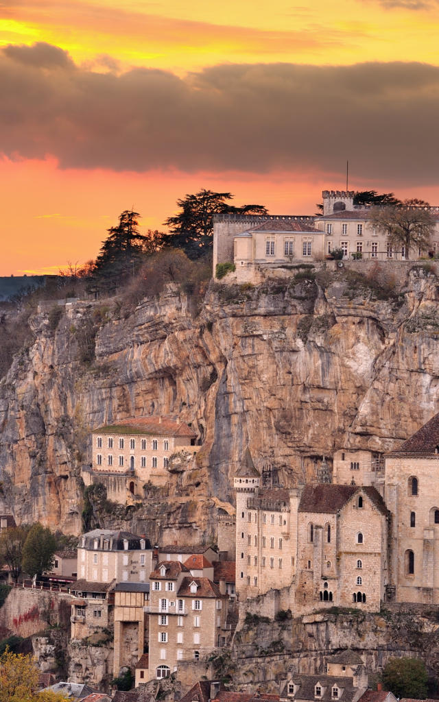Vue sur la Cité mariale de Rocamadour