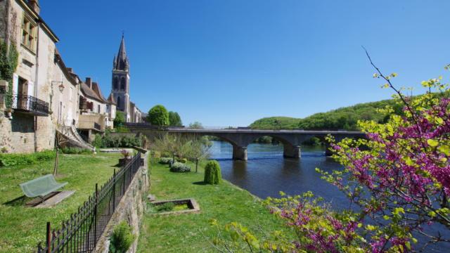 la Dordogne à Lalinde