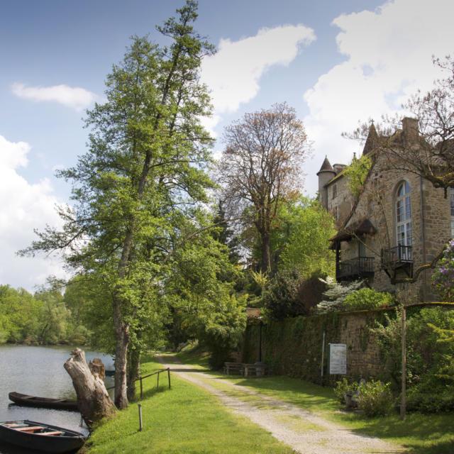 Bords de Dordogne à Carrenac