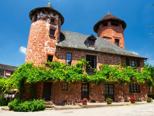 Collonges la rouge en Corrèze