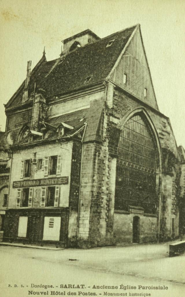 L'ancienne Eglise Sainte-Marie, avant restauration