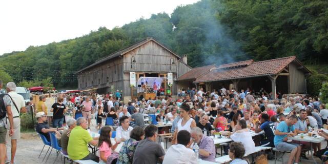 Marché gourmand de Saint Amand de Coly