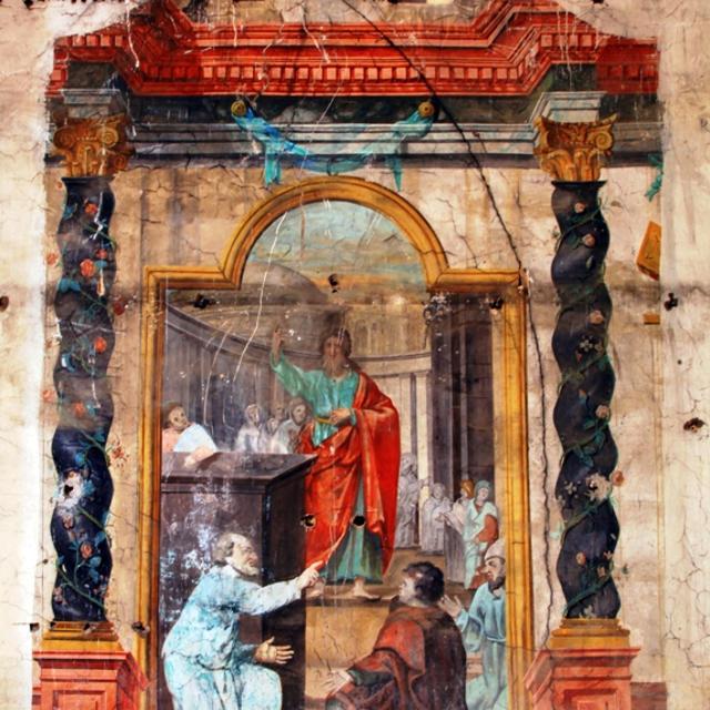 Fresques de l'église de Belvès