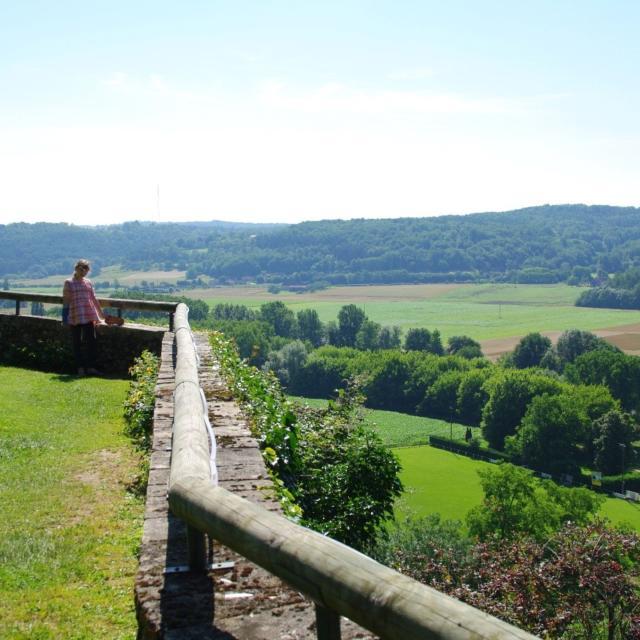 Vue des Jardins Panoramiques de Limeuil