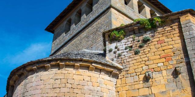 Eglise de Marquay, au nord de Sarlat