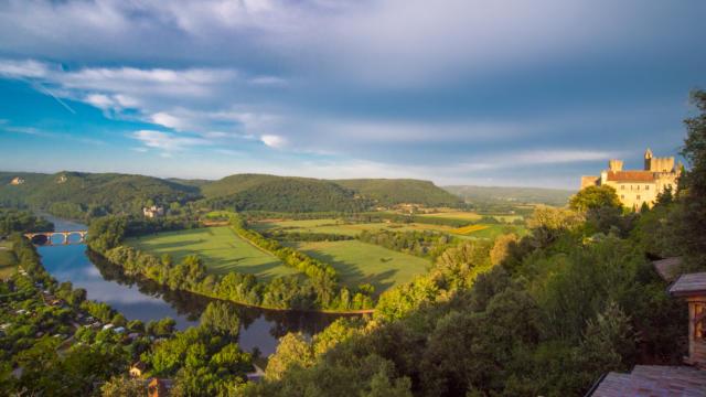 La vallée de la Dordogne depuis Beynac
