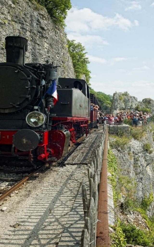Petit Train de Martel dans le Quercy