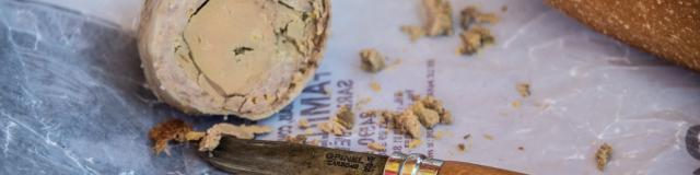 Cou farci au Foie gras