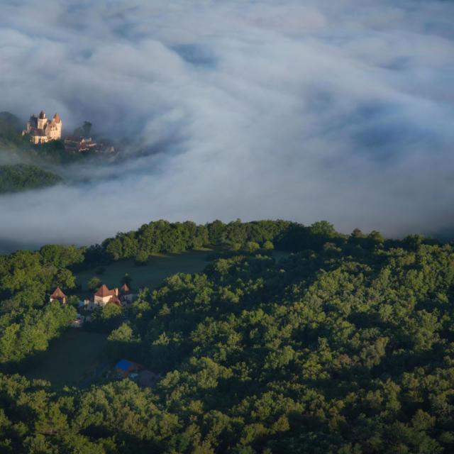 Vue Aerienne Dordogne