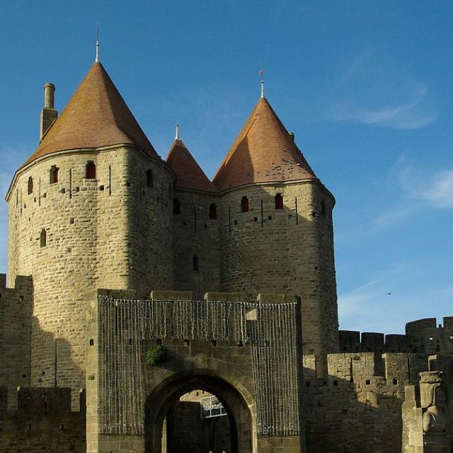 Portes de la Cité médiévale de Carcassonne