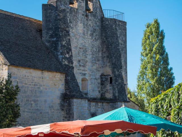 Marché de Sainte-Nathalène, près de Sarlat