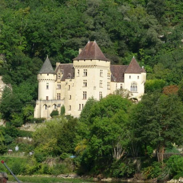 Château de la Malartrie sur la commune de Vézac