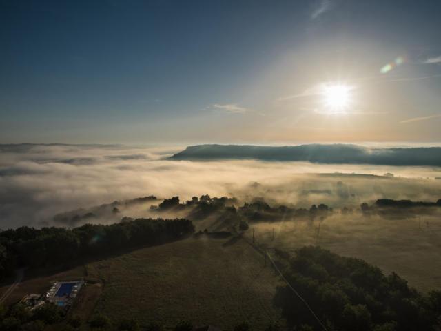 PAysage de Dordogne sous le Soleil