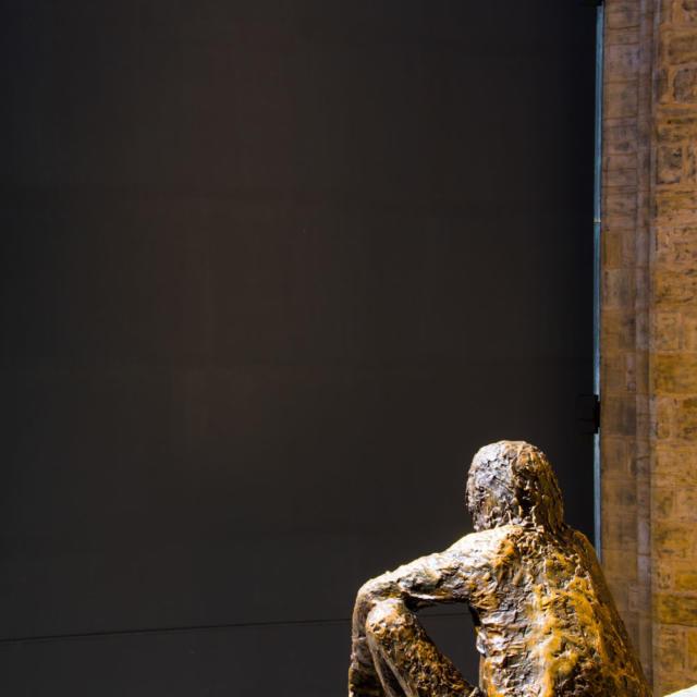 Statue du Badaud à Sarlat