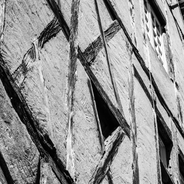Maison de Sarlat à colombages