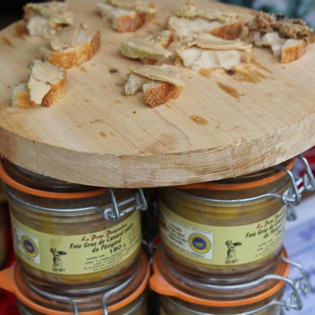 Visite de sarlat avec dégustation de foie gras