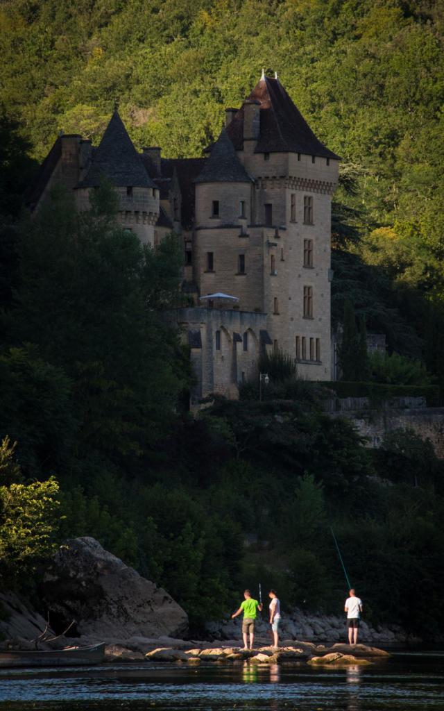 La pêche sur la Dordogne