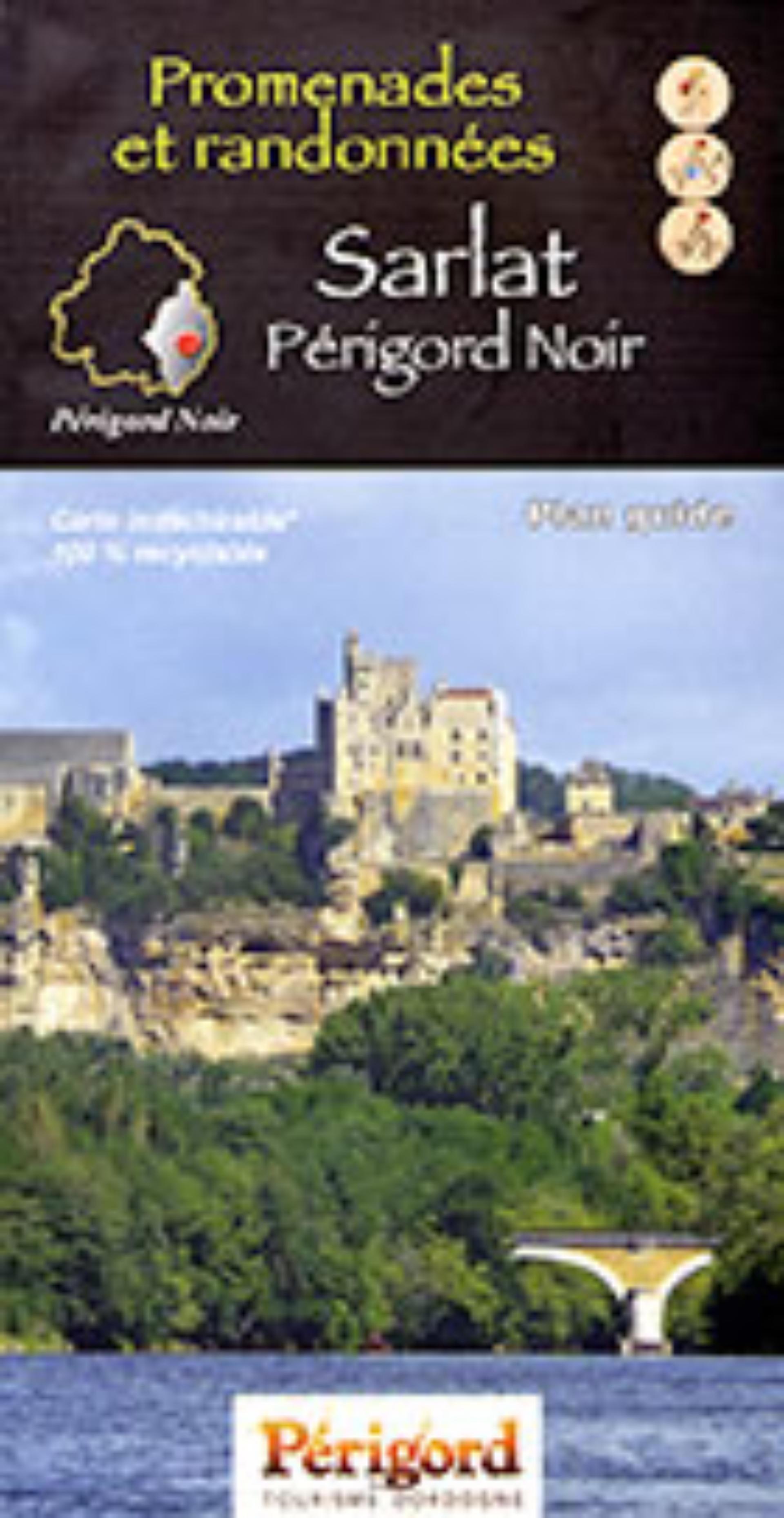 Plan guide PDIPR des promenades et randonnées en Périgord