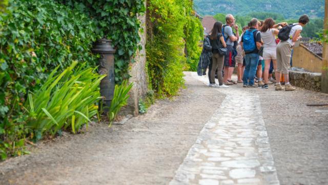 Visite du village de Beynac