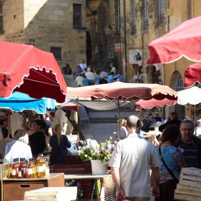 Sarlat et son marché