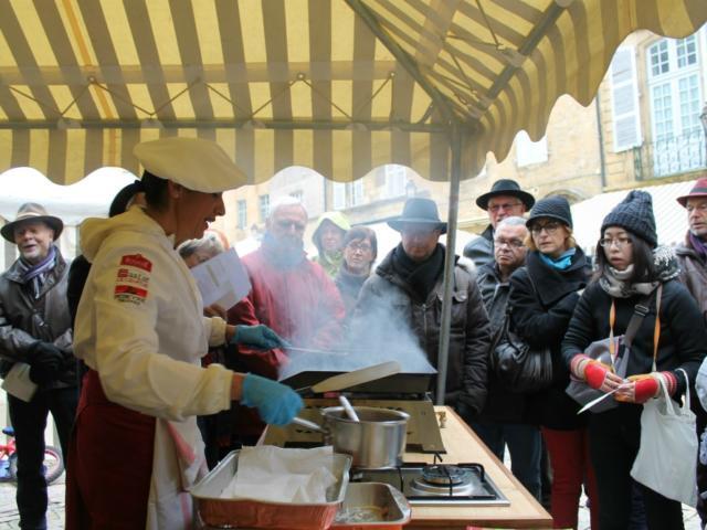 Fête de La Truffe_street food