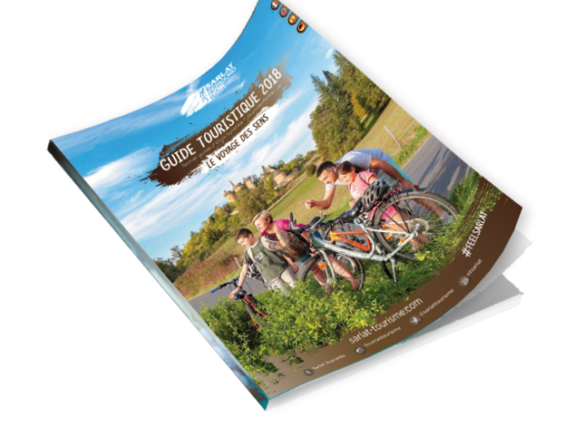 Brochure Guide touristique Sarlat Périgord Noir