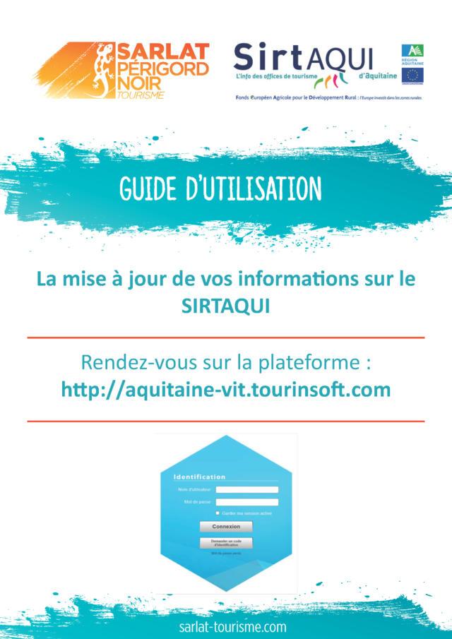 Guide D'utilisation De L'extranet Page 01